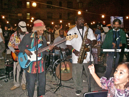 Reggae Band on Main St. and 5th, L.A.
